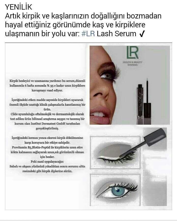 Deluxe Lash Serum kirpik serumu kirpiklerin uzamasini dolgunlasmasini sağlar...