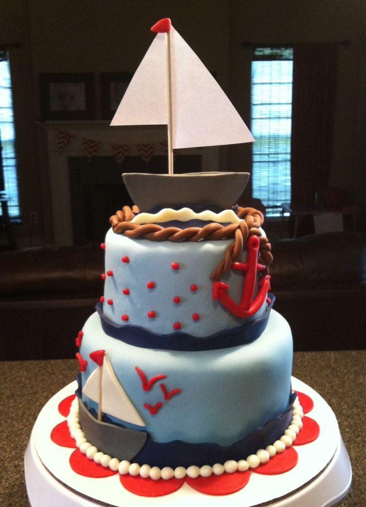 baby shower cakes baby theme nautical cakes theme baby baby landau