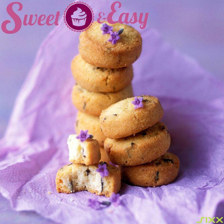 Frühlings-frische #Kekse - Aufgepimpt mit #Lavendel. Der Frühling kann kommen!
