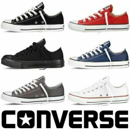 all star converse basse uomo