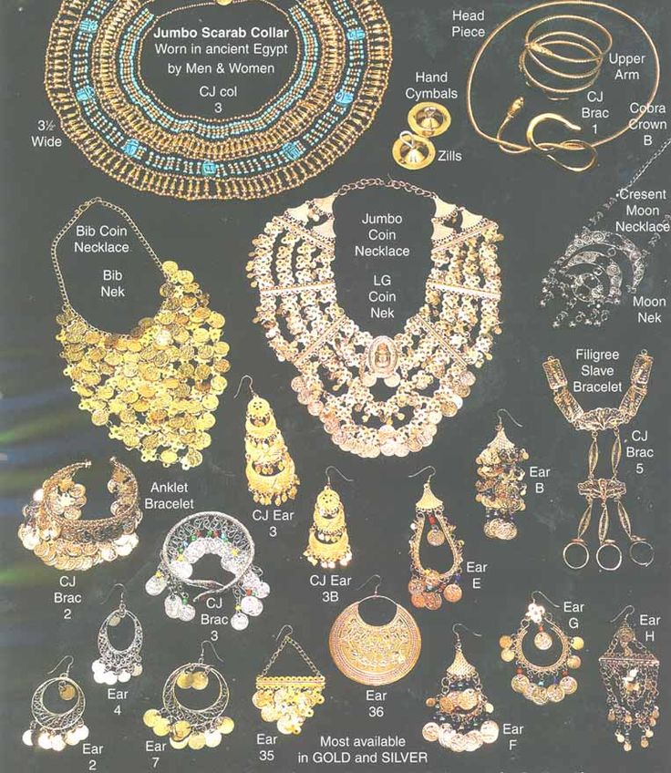 Historical Egyptian Jewelry - two subjects very close to my heart - ancient Egyptian art & artefacts and jewellery (making)!