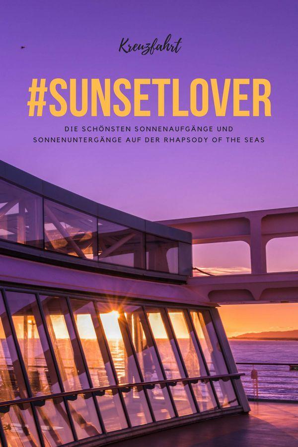 Die schönsten Sonnenaufgänge und Sonnenuntergänge auf unserer Kreuzfahrt auf der Rhapsody of the Seas #sunsetlover #sunset #sunrise #sonnenuntergang #kreuzfahrt