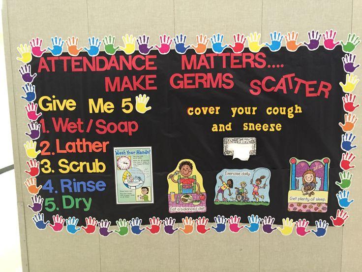 January bulletin board by the school nurse!
