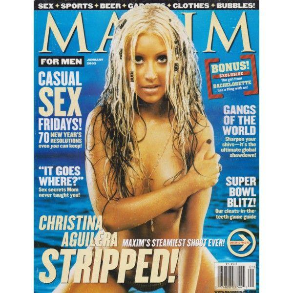 Maxim Magazine - Christina Aguilera