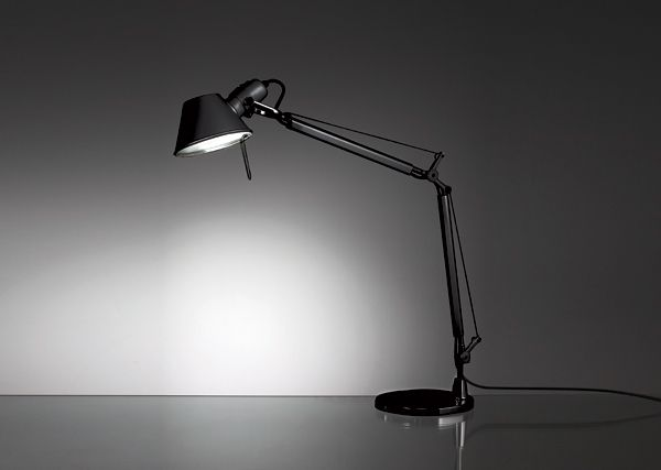 TOLOMEO MINI  Designed by MIchele De Lucchi and Giancarlo De Fassina http://www.artemide.us/Products/Artemide/Table/Tolomeo_Table_Mini/Tolomeo_Table.pdf