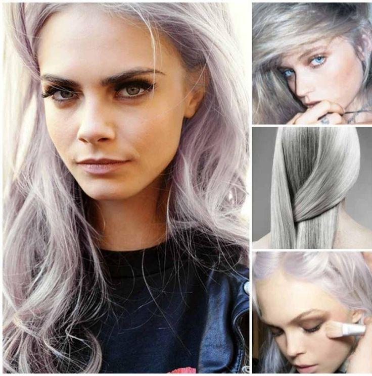 Image Result For Silberblonde Haare