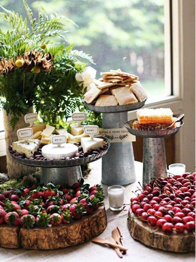 Party food: idee dolci e salate per aperitivi e piccoli buffet | Vita su Marte