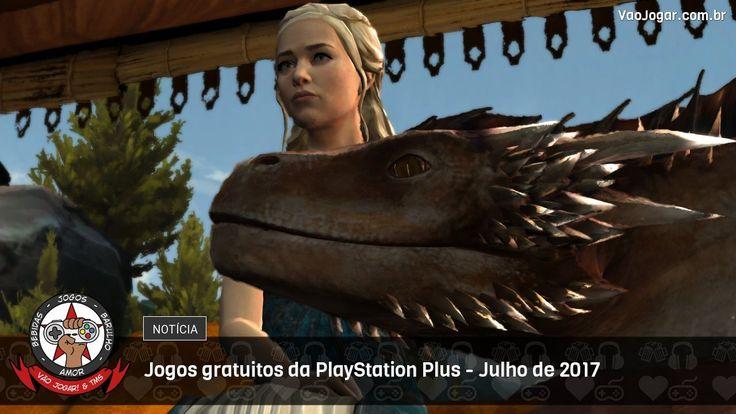 Uma boa variedade de jogos para os assinantes da Plus no mês de Julho.  #PlayStationPlus #PlayStation4 #PS4 #PlayStation3 #PS3 #PlayStationVita #PSVita #VaoJogar #VideoGames #Games #InstaGames