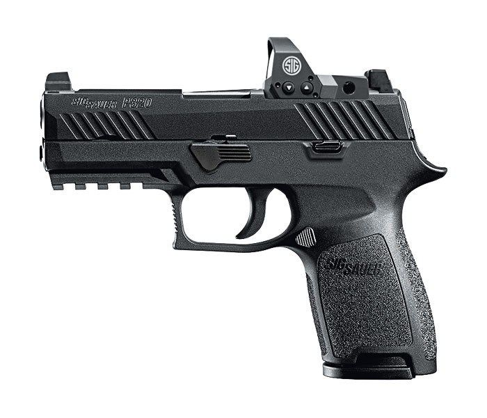 New Sig Sauer P320 RX Compact w/ Romeo 1 Red Dot 9mm.  Please contact us for price. - http://www.gungrove.com/new-sig-sauer-p320-rx-compact-w-romeo-1-red-dot-9mm-please-contact-us-for-price/
