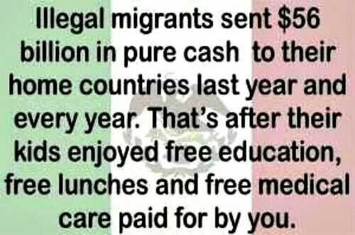 Smh. This is wrong, wrong, wrong, wrong and did I say wrong. Quit taking and give back to the US.