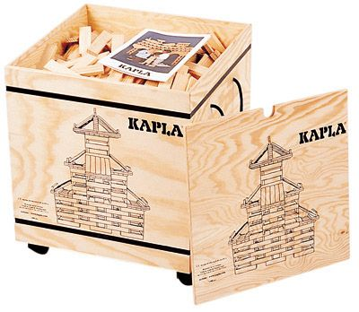 Kapla 1000 Building Blocks. These are expensive ($299), but look like so much fun!