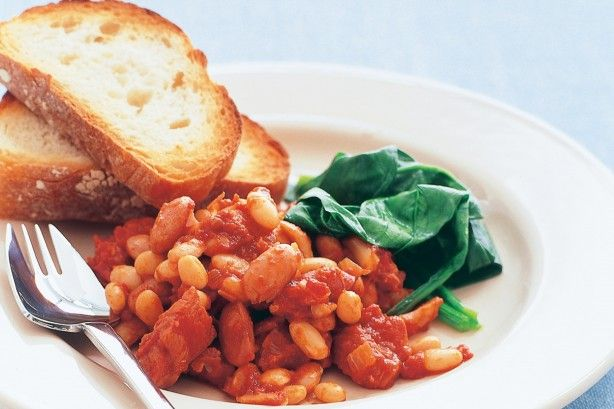 If your kids love baked beans, try the home made version for breakfast. A real winner!