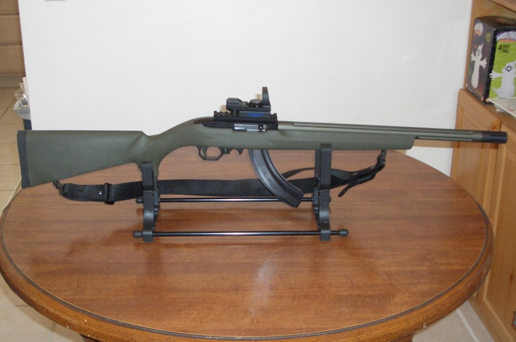 tactical solutions Ruger 10/22. weigh less than 5lbs, cost