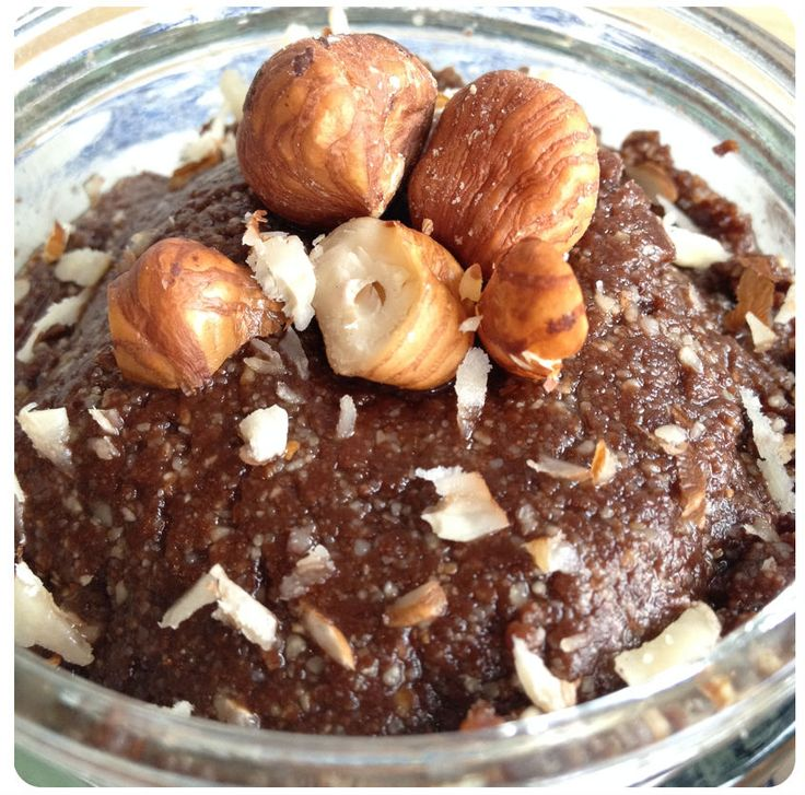 Chocolade hazelnootpasta gezond recept eetclean