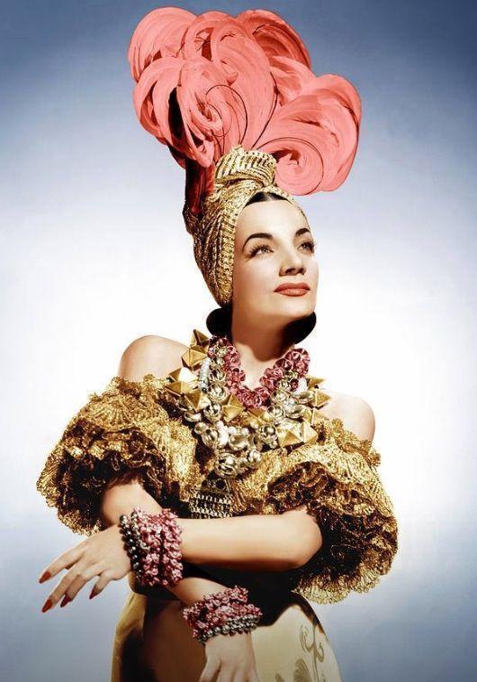 The forever fabulous Carmen Miranda