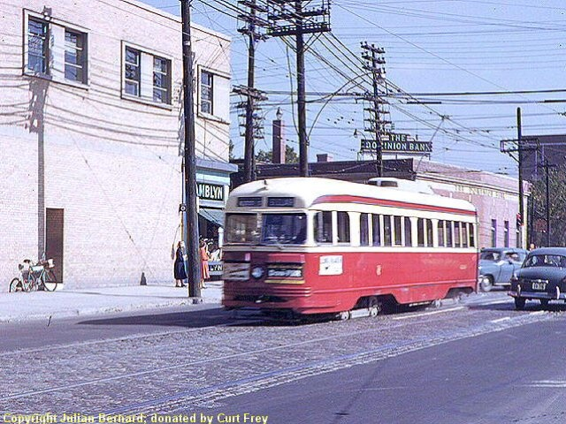 These are my favourite streetcars but they don't run around here any more