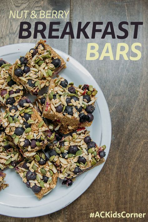 Healthy Breakfast Bars, Healthy Kid's Recipes, Autumn Calabrese, 21 Day Fix, Healthy Breakfast Recipes