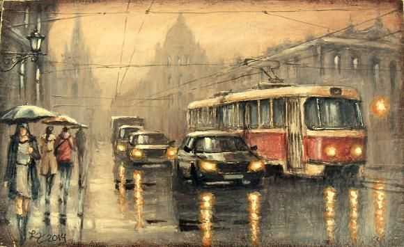 что-то погода сегодня не очень, автор Демьян Ленков. Артклуб Gallerix