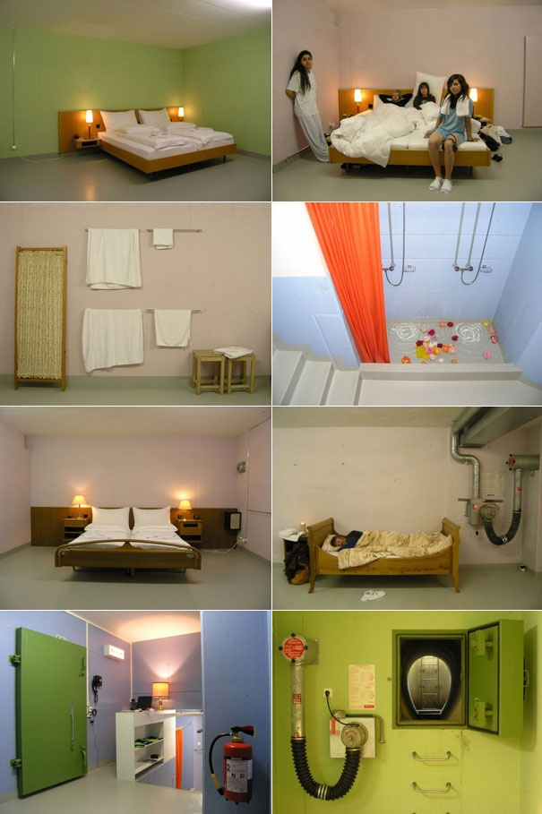 Null Stern Hotel in a nuclear bunker