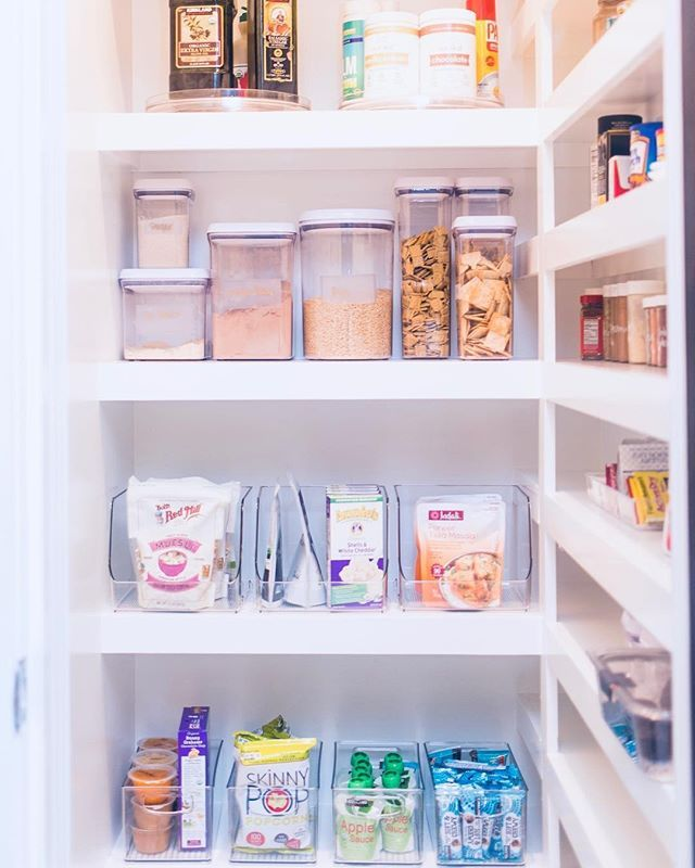 See Through Containers Are Da Thehomeorganized We Couldn T Have Said It Better Ourselves Pantry Makeover Organizing Bins Home Organization