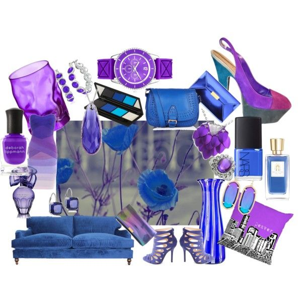 """""""Got the Blues"""" by sferris8 on Polyvore"""