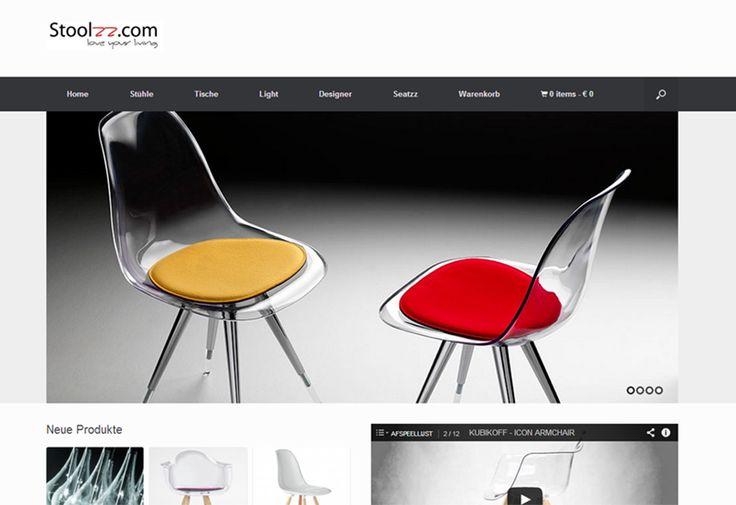 Wordpress website met webshop voor Stoolzz. | www.stoollz.com