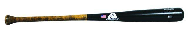 "Akadema M688 Youth Maple Wood Bat 29 Inch - M688 Maple 6 Series wood bat is made from the top elite Upstate New York- New England hard sugar Maple. Medium barrel, 7/8"" tapered handle, 1 7/8"" knob. Sports > Baseball Equipment > Wood Bats. Weight: 2.00"