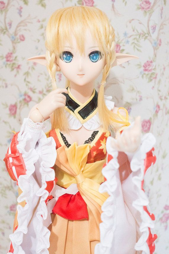 Shining Resonance Kirika Autumn of song ver. outfit by CfphkBJD