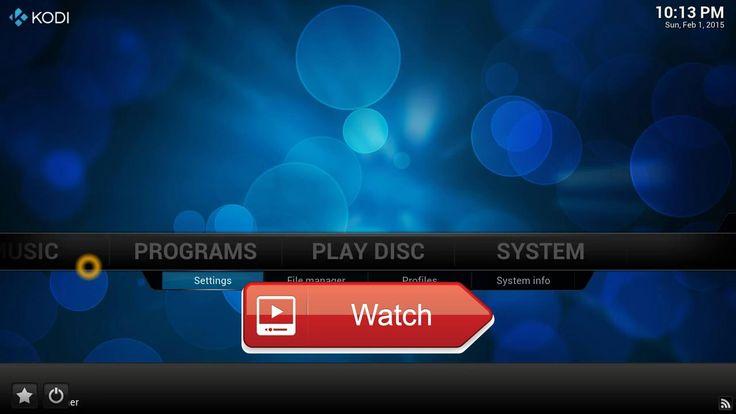 XBMC KODI new How to Install IPTV Playlist Loader on KODI XBMC