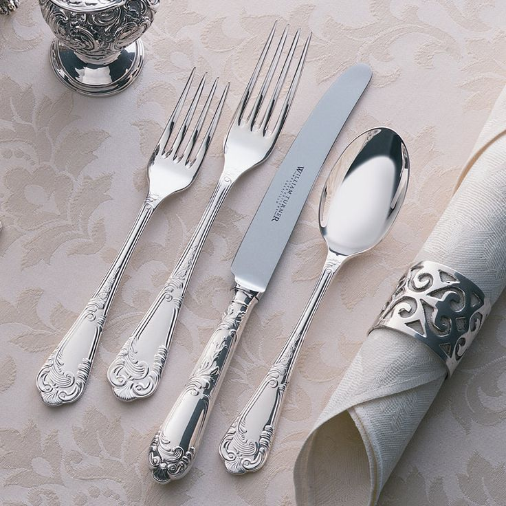 William Turner - Master Cutlers: Cutlery Sets - Louis XV Design Cutlery Set