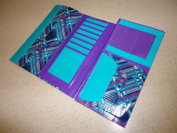 Duct/Duck Tape Womens Clutch Wallet