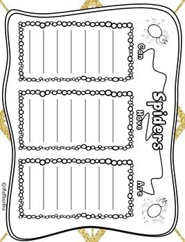 SPIDERS! A PRIMARY RESEARCH PROJECT - TeachersPayTeachers.com