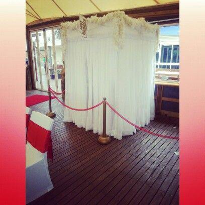 ' Wedding Booth'....Elegant & Fancy   slapstickphotobooth.com  #slapstickphotobooth #weddingbooth #wedding #adelaide