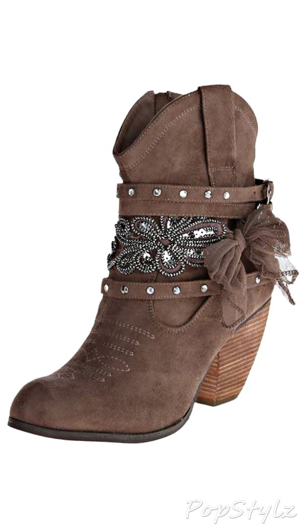 Not Rated Shortie Harness Boot