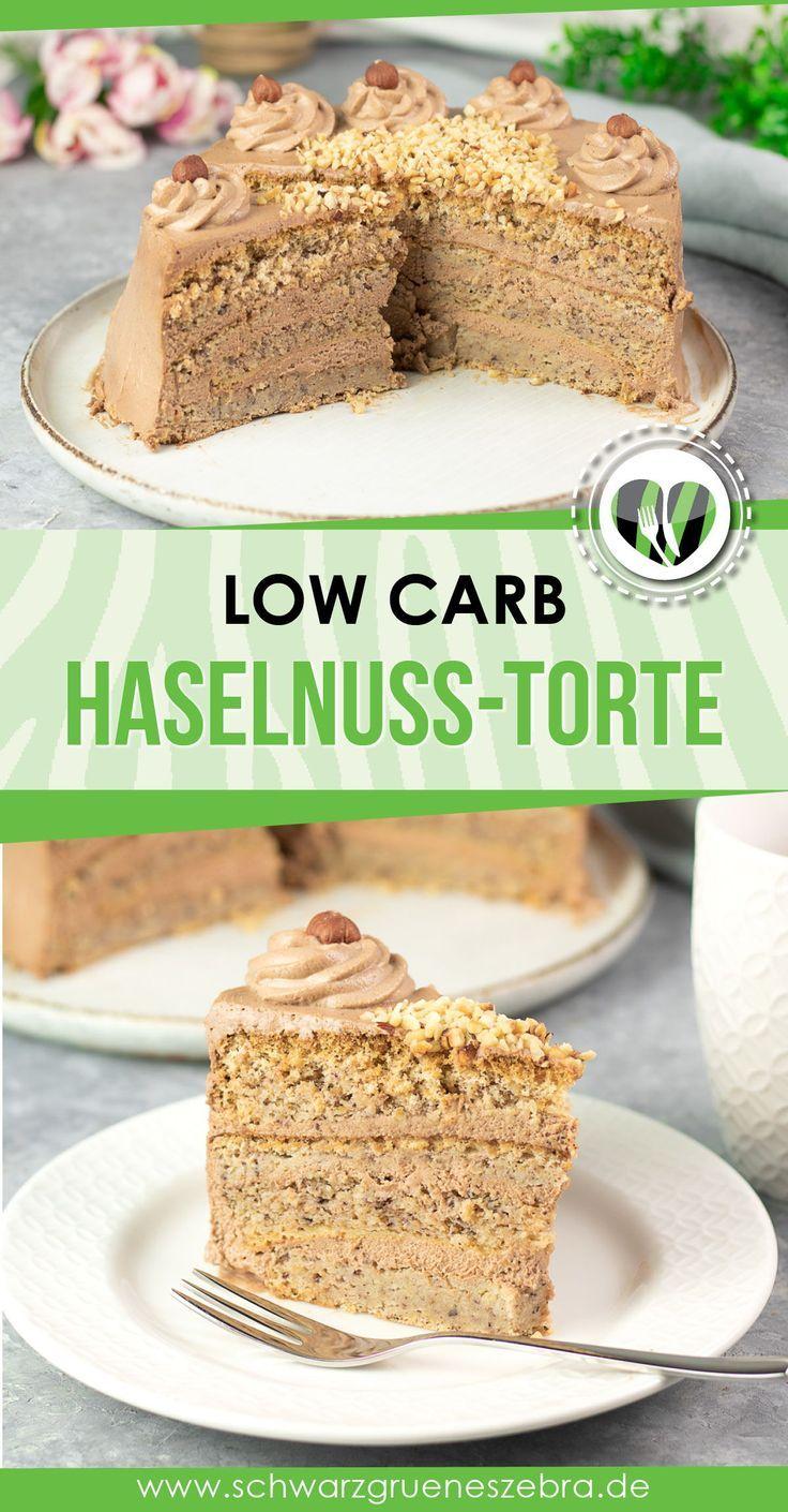 Low Carb Haselnuss Torte Ein Kuchen Fur Den Besonderen Anlass Rezept In 2020 Kaffee Und Kuchen Dessert Ideen Low Carb Rezepte
