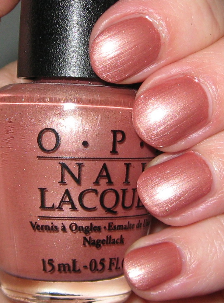 OPI Chocolate Shake-Speare- shimmery brownish nude, like Clinique Sunset lipgloss