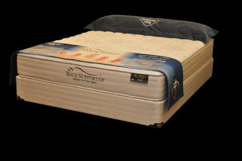 Spring Air 1921 46S Back Supporter MAX King Size Sizesport Full Size Mattress and Foundation Set by Spring Air. $1262.25. Width: 53.. Length: 74.. Collection: Kingsport.. Size: Full.. Type: Tight Top.Dimensions:. Spring Air Back Supporter MAX Kingsport Full Size Set. Collection: Kingsport. Size: Full. Type: Tight Top. Dimensions:. Length: 74. Width: 53. Height: 22.75. Softness Level: 8. Back Supporter -Zone Wood Foundation which provides more support in the middle. 40% ...