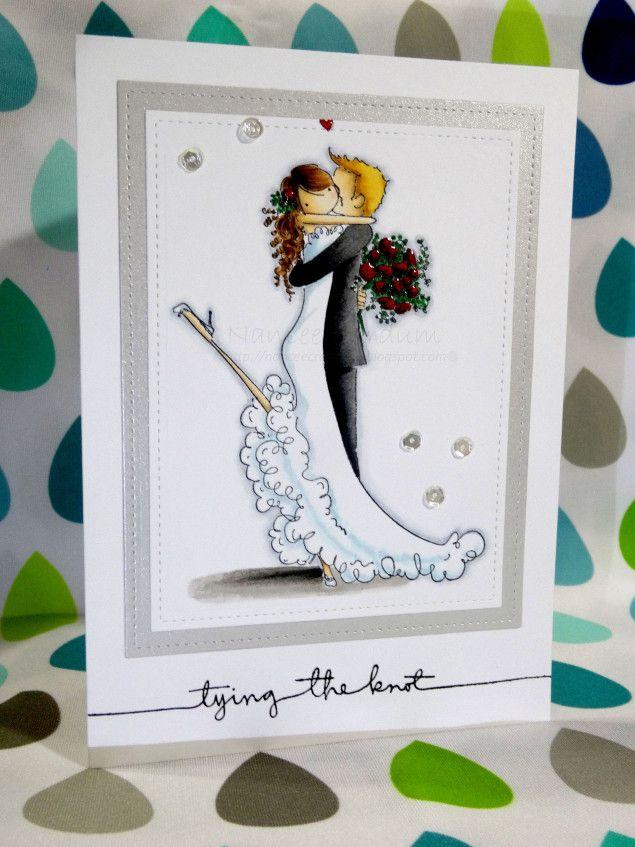 Скетч свадебная открытка