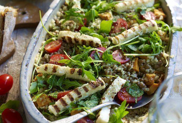 Quinoasalade met halloumi recept | Solo Open Kitchen