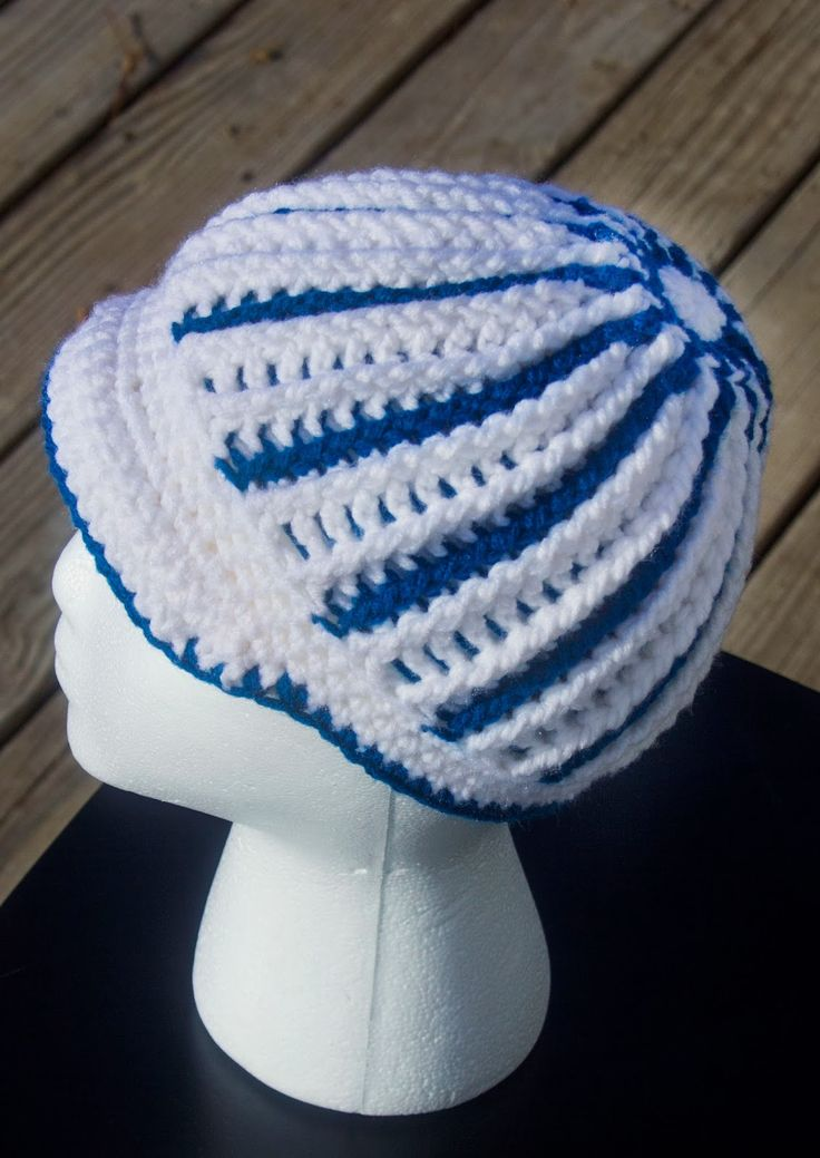 Manda Nicole's Crochet Patterns: Eccentric Beanie