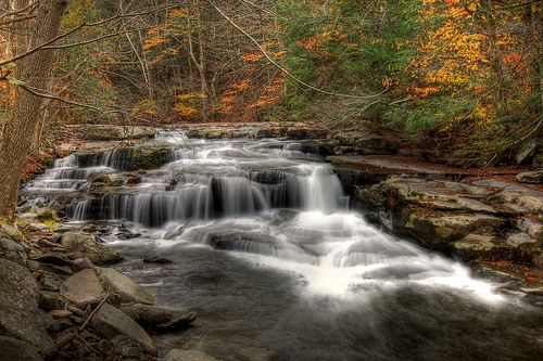 Chichester Falls Catskill Mountains NY
