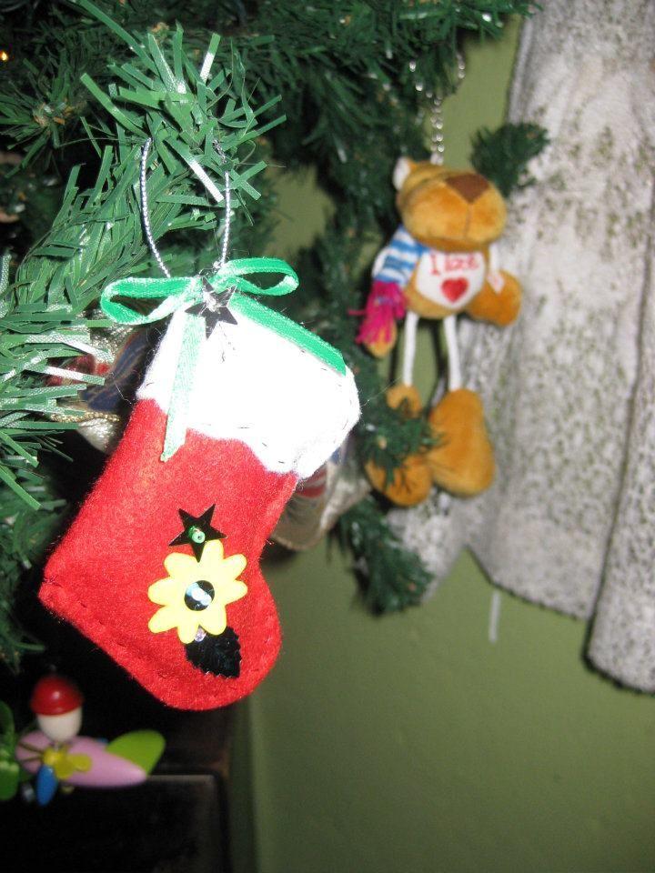 Bota de navideña