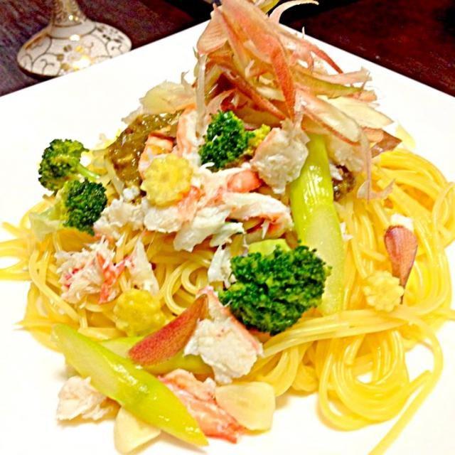 これは美味しかった\(^o^)/ - 65件のもぐもぐ - 蟹味噌パスタ by fuucandy804