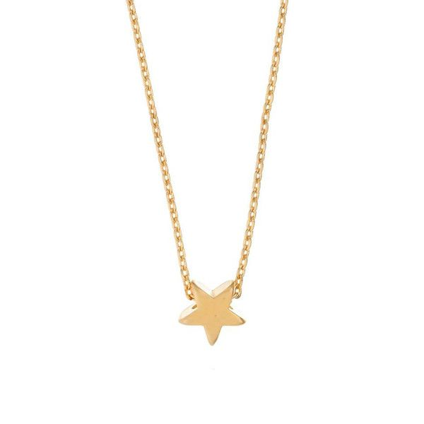 MINNIE GRACE gold Star charm necklace | La Luce