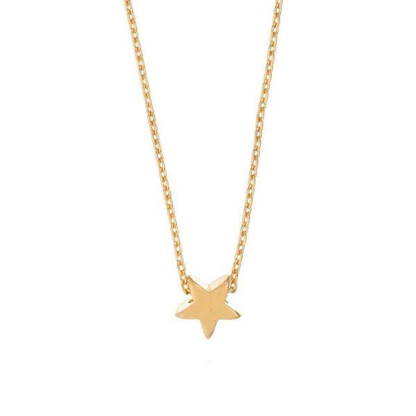 MINNIE GRACE gold Star charm necklace | La Luce