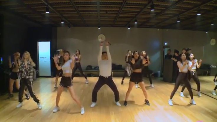 If I was about 40 years younger I would have practiced this dance until I perfected it.  Now...only in my mind, lol.   PSY - DADDY (Dance Practice)