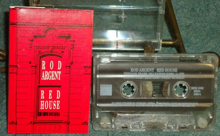 Rod Argent - Red House - 1991 - Relativity Records - Audio Cassette -The Zombies