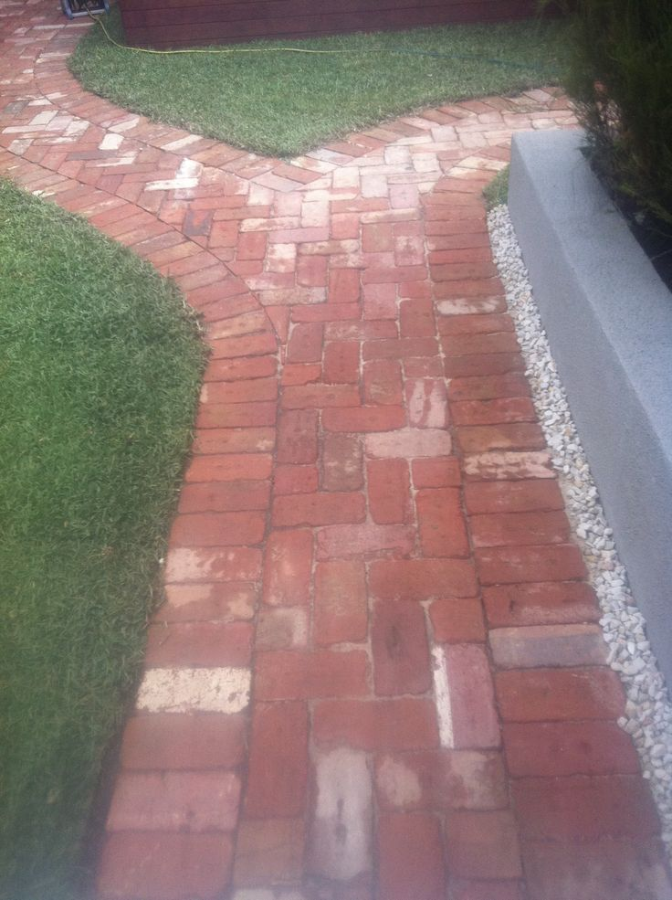 32 best images about recycled red brick paving on