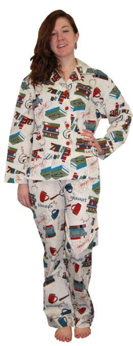 Frankie Johnny Book Lover Cotton Pajama