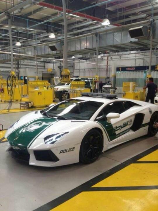 Lamborghini Police Car (Dubai)
